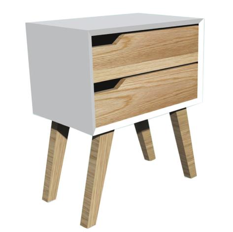 BOX-LEG DRAWER BEDSIDE TABLE HWC13