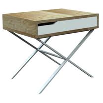 X-LEG BEDSIDE TABLE HWC16