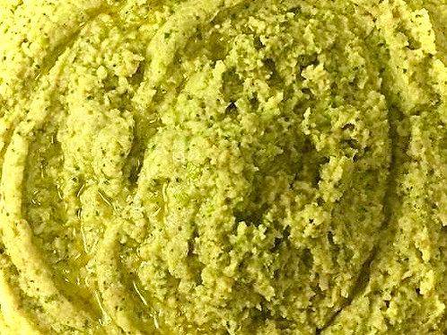 Pea and Mint Hummus Pot