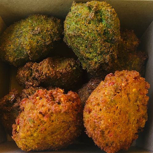 Box of 8 Mixed Flavoured Falafel