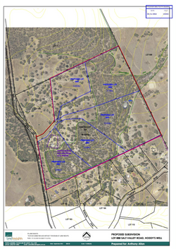 LAND APPROVED FOR SUBDIVISION