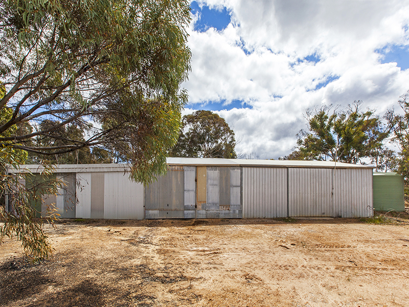 LAND WITH SHED FOR SALE