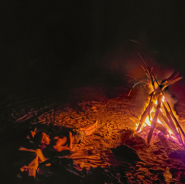 Join us for a bonfire on the beach!