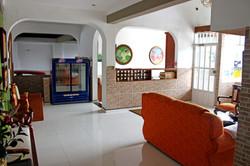 Recepción Ullumbe Hotel Pitalito