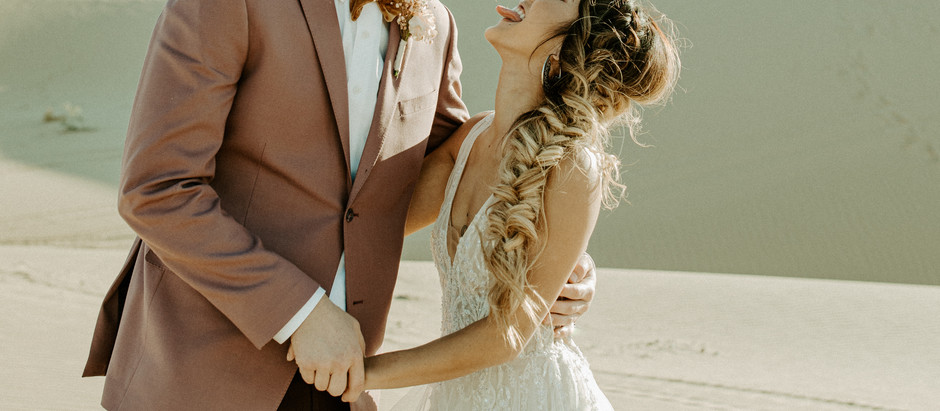 Glamis Sand Dunes Elopement Styled Shoot