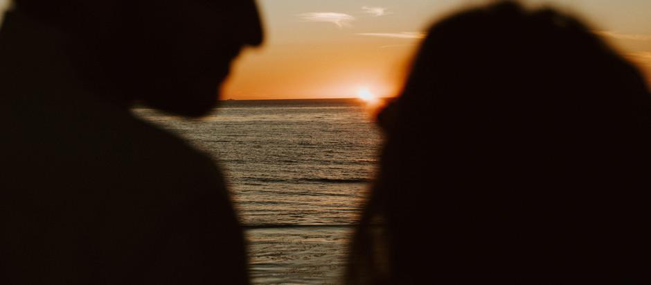 Sunset Cliffs - San Diego, CA - Engagement Session
