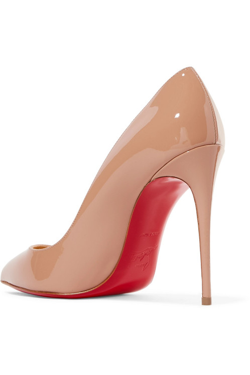 finest selection aa3bd fdc0d Christian Louboutin Pigalle Follies 100 patent-leather pumps