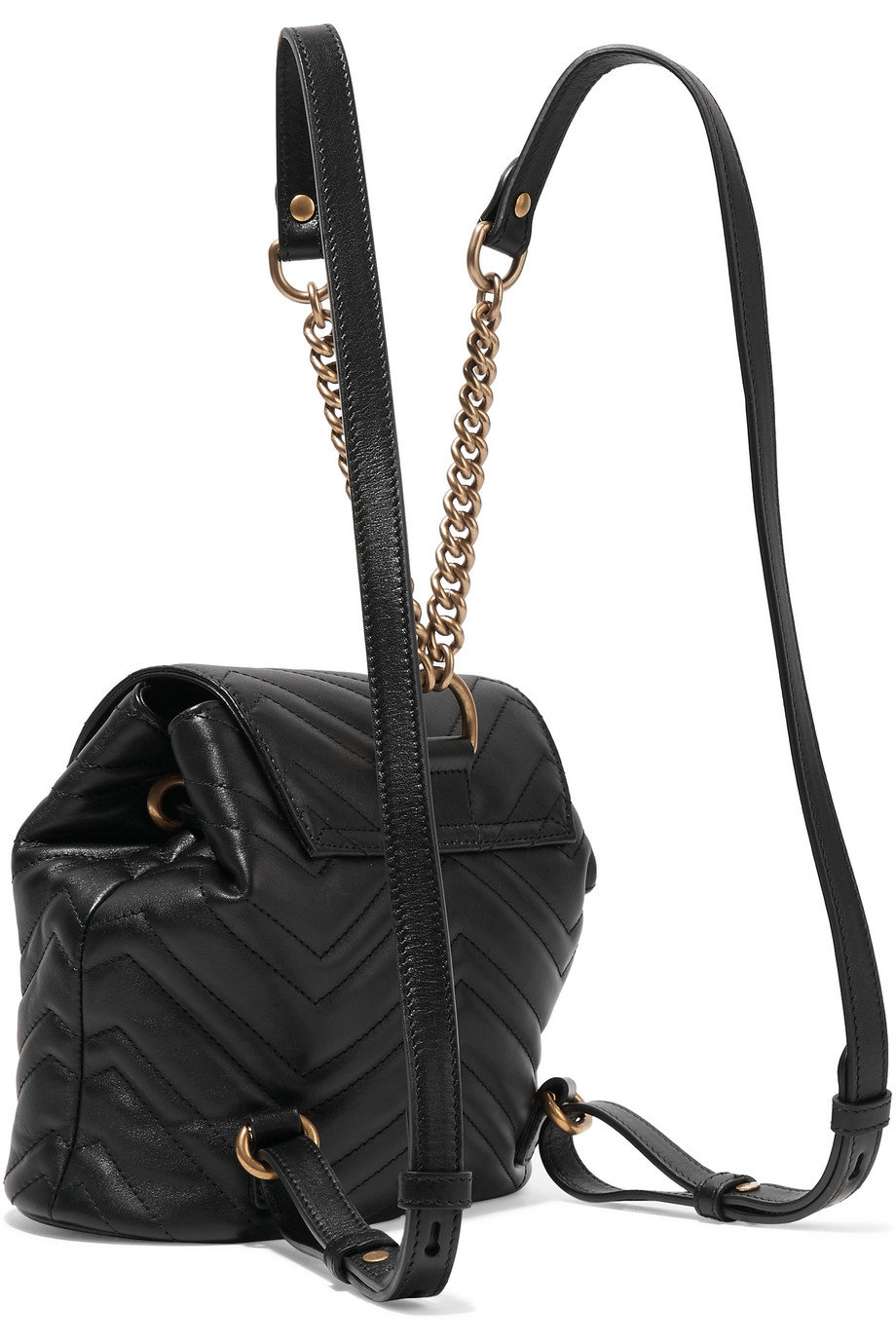 hot-selling clients first info for Gucci GG Marmont quilted leather backpack | Bagolysshop