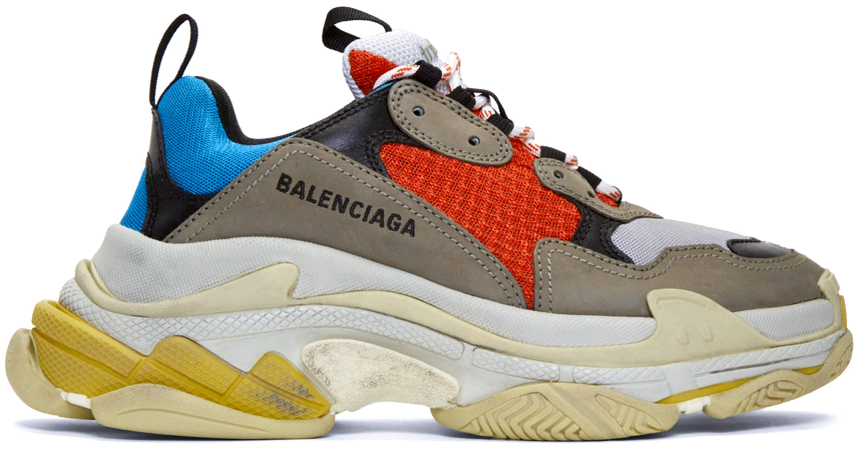 new lower prices buying now temperament shoes Balenciaga Triple S Multicolor
