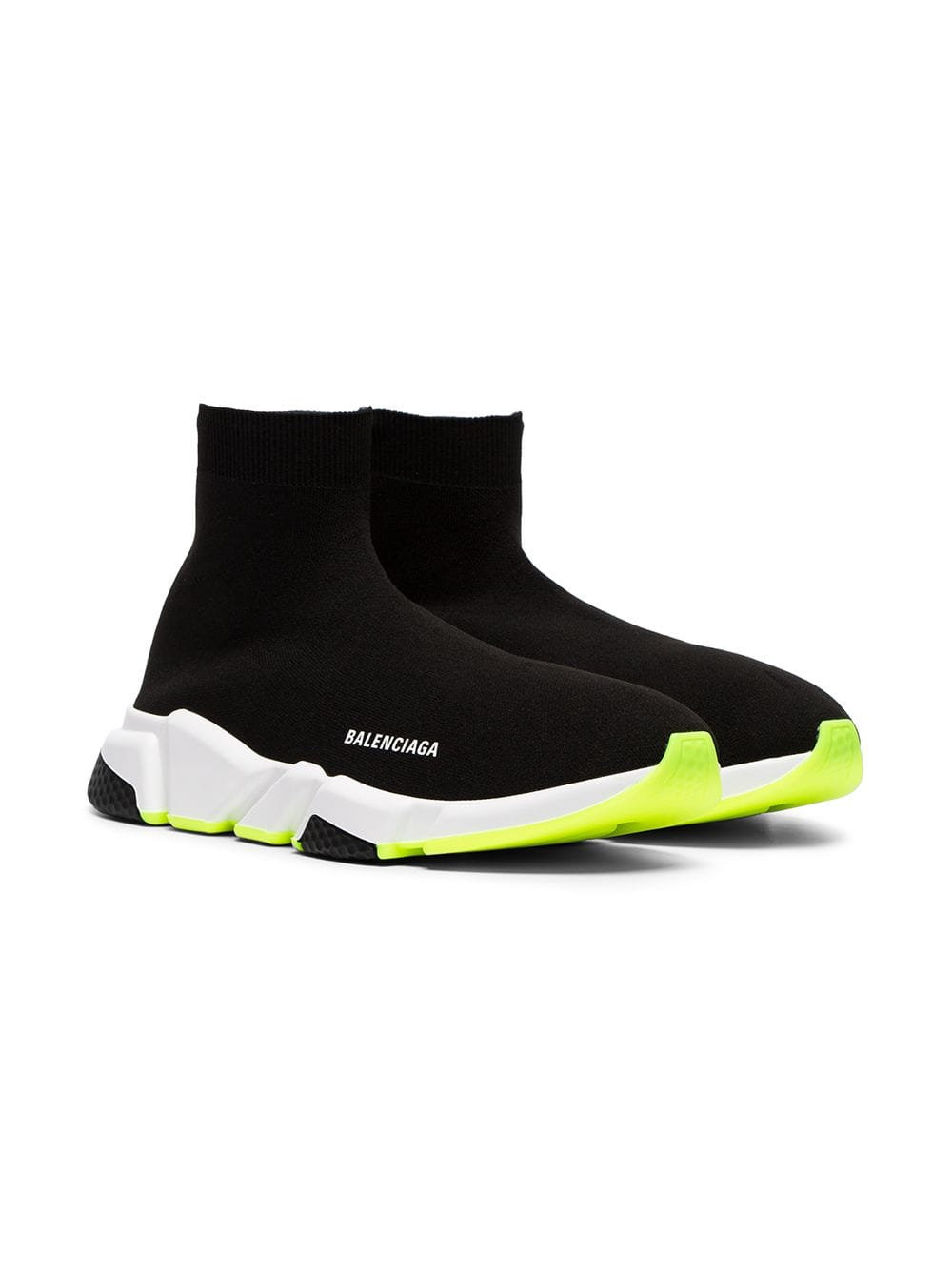 outlet store sale premium selection free shipping Balenciaga speed trainer Black and green