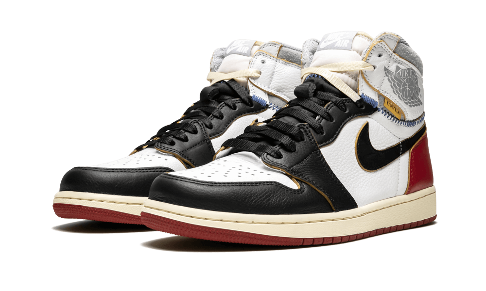 buy popular 9ce00 156f5 Air Jordan 1 Retro x Union LA Black toe   Bagolysshop