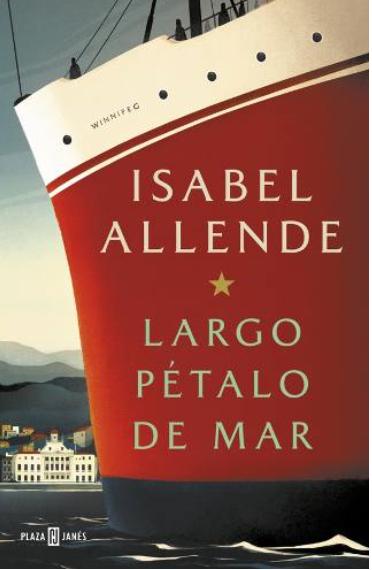 Largo petalo del mar libro Isabel Allende