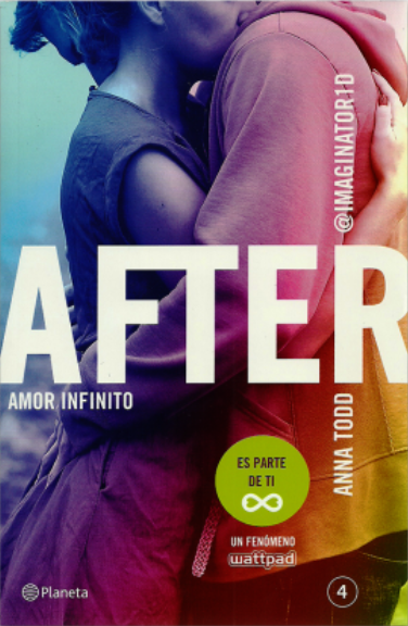 After 4 Amor infinito (Serie After 4) Libro - Anna Todd