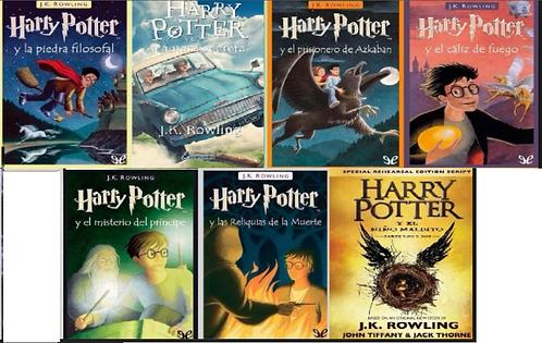 Colección Harry Potter x 9 Saga J.K. Rowling gratis cachucha Exclusiva