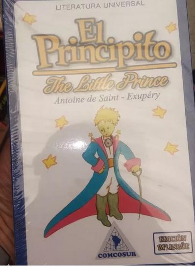 El Principito Libro Antoine de Saint-Exupery Comcosur
