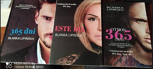 Trilogia 365 dni -  tres Libro  Blanka Lipinska  Tematica Erotico