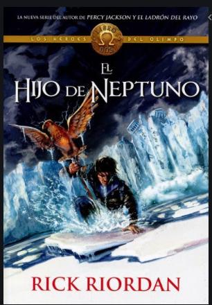 El Hijo de Neptuno Saga Percy Jackson Libro Rick Riordan