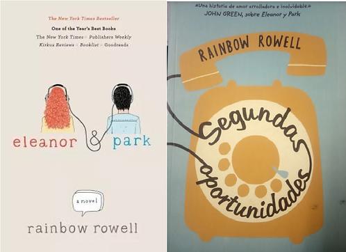 Libro Rainbow Rowell Segundas oportunidades y Eleanor & park