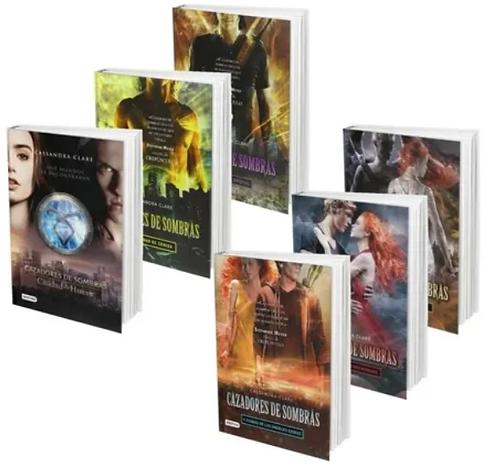 Coleccion Cazadores De Sombras x 6 libros Saga Cassandra Clare