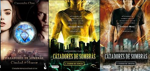 Trilogía Cazadores De Sombra x 3 libros