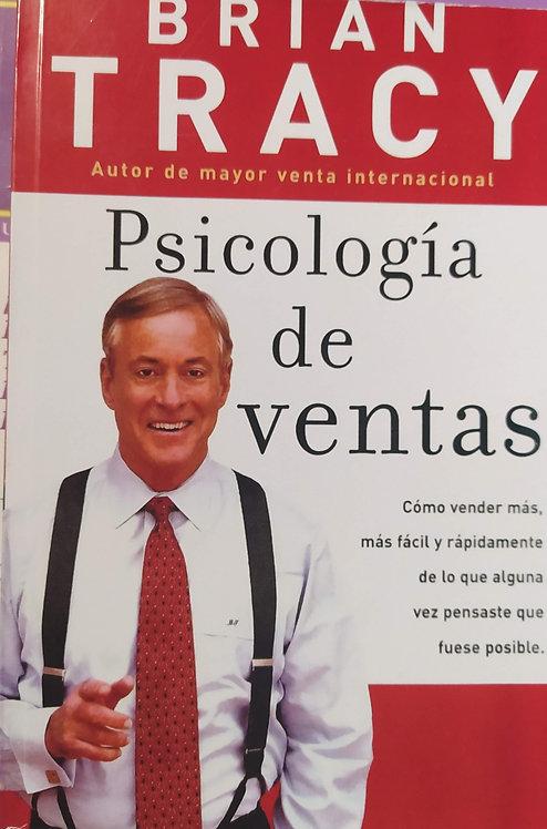 Psicologia De ventas Autor Brian Tracy