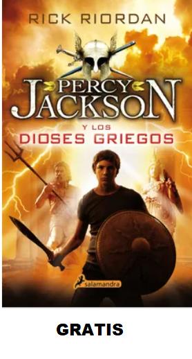 Percy Jackson Y  Los Dioses Griegos Libro Rick Riordan