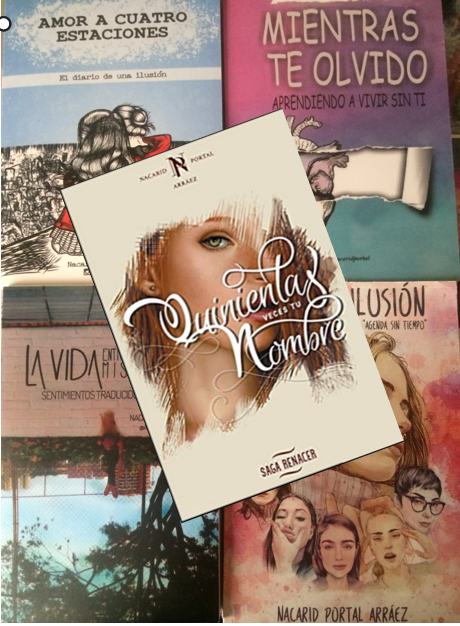 Colección Saga Nacarid Portal x 5 libros