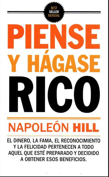 Piense y Hagase Rico Libro Napoleon Hill