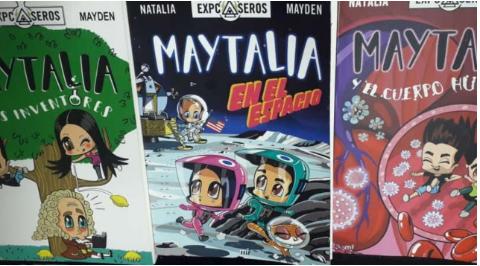 Coleccion x 3 libros Maytalia  Libro Natalia Mayden