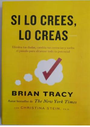 Si Lo Crees Lo Creas Autor Tracy
