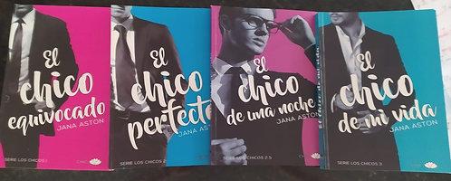 Colección Chico Perfecto, Chico Una Noche, Chico  Equivocado Autor: Jana Aston