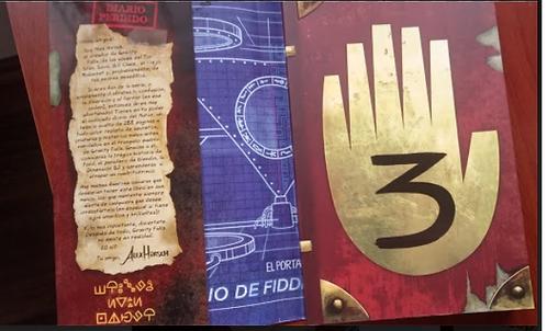 Diario 3 -  (diario 3 ) Gravity Falls importado Argentina Original Full Color