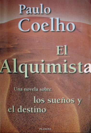 El Alquimista Libro Paulo Coelho