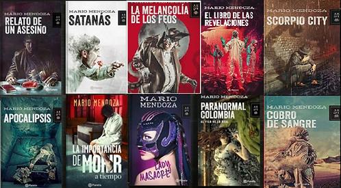 Colección x 10 libros Mario Mendoza + Envio