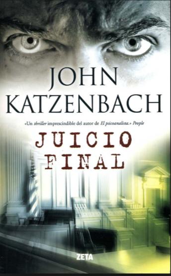 Juicio Final libro John Katzenbach