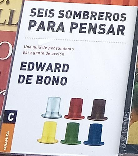 Seis Sombreros Para Pensar Libro Edward De Bono