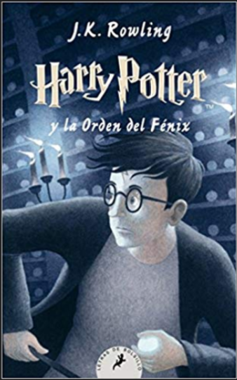 Harry Potter y la orden del fenix libro 5 libro: J.K. Rowling