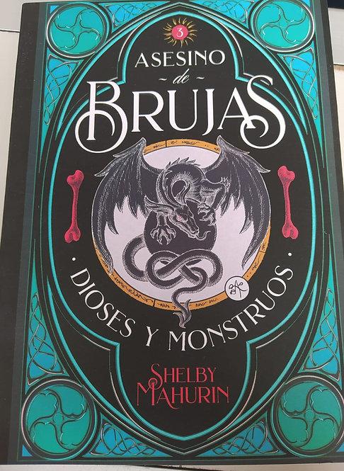 Asesino de Brujas Dioses y Mostruos Autor: Shelby  Mahurin