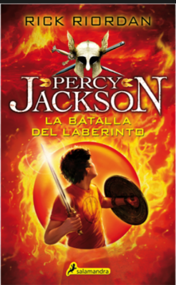 Percy Jackson La Batalla del Laberinto Libro Rick Riordan