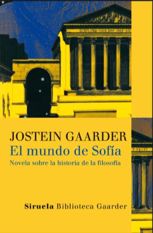 El Mundo De Sofía Libro Jostein Gaarder