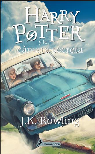 Harry Potter libro 2 La cámara secreta libro: J.K. Rowling