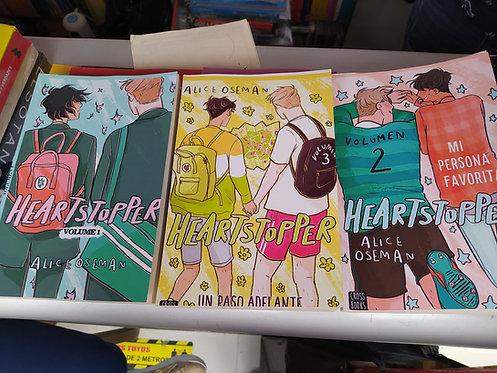 Trilogia Heartstopper volumen 1-2-3 Autor:Alice Oseman