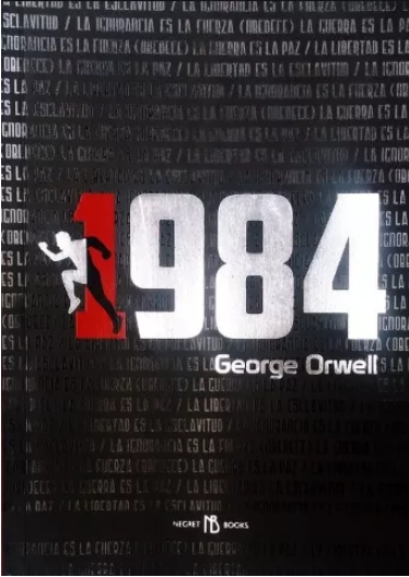 1984 Ilustrado Color Original George Orwell