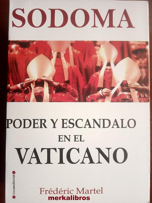 Sodoma Poder y escandalo en el Vaticano Libro Frederic Martel