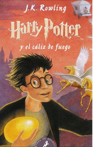 Harry Potter y el caliz de fuego libro 4 libro: J.K. Rowling