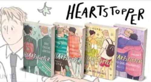 Colección x 4 libros Heartstopper Gráficos