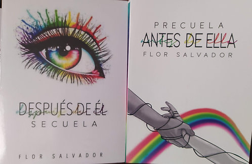 Boulevard  :  Despues De El  + Antes De Ella  Autor Flor M Salvador