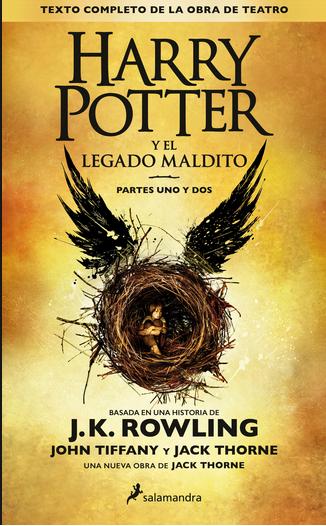 Harry Potter libro 8 El Legado Maldito Autor: J.K. Rowling