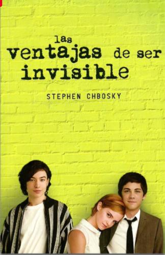 Las Ventajas de ser Invisible Libro Stephen Chbosky