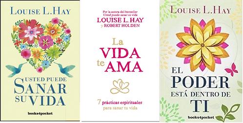 Coleccion libros Louise Hay :usted puede sanar su vida , el poder esta, la vida